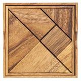 Tangram - jeu de puzzle chinois Image stock