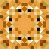 Tangram mandala puzzle Stock Images