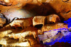 Tangshan ape cavern. In Nanjing, Jiangsu, China stock images