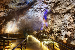 Tangshan ape cavern. In Nanjing, Jiangsu, China royalty free stock photos