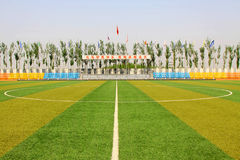 Tangshan excellence school track and field Royalty Free Stock Photos