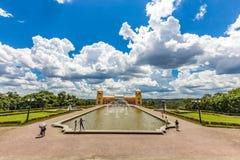 Tangua公园看法  库里奇巴, PARANA/BRAZIL 免版税库存图片
