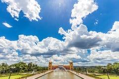 Tangua公园看法  库里奇巴, PARANA/BRAZIL 库存照片