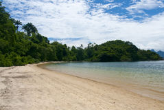 Tangua Beach. Scenic view of Tangua Beach, Abgra dos Reis, Rio de Janeiro, Brazil Royalty Free Stock Photo