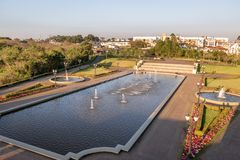Tangua Park - Curitiba, Parana, Brazil. Tangua Park in Curitiba, Parana, Brazil stock images
