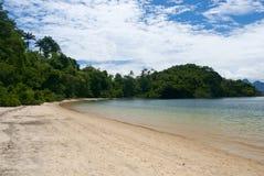 Tangua strand royaltyfri foto