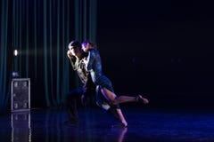 Tanguedia de Amor 13--Âne de drame de danse obtenir l'eau photos libres de droits