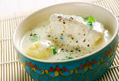 Tangy Fish Soup Stock Photography
