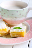 Tangy lemon squares Royalty Free Stock Photography