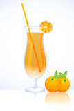 Tangy orange juice Royalty Free Stock Photography