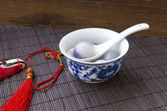 Tangyuan (red jujube crystal) Stock Images
