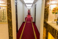 Tani hotel w Sochi zdjęcia royalty free