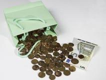 Tani zakupy z małymi savings Obrazy Royalty Free