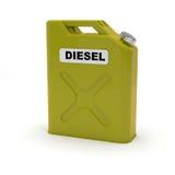Tanica diesel  Fotografia Stock Libera da Diritti
