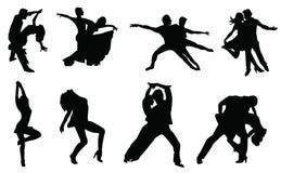 Taniec royalty ilustracja