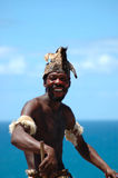 taniec afrykański człowieku Obrazy Royalty Free