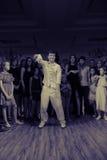 Taniec bitwa Obrazy Stock