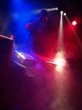 taniec dj bawi się Zdjęcia Stock