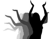 taniec dziewczyny Obraz Stock