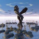 Taniec elfy ilustracja wektor