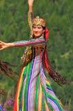 taniec grupowy Uzbekistan Obrazy Stock
