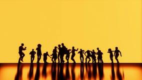 Taniec I radość ilustracji