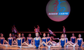 Taniec klasy: podstawowy szkolenie Obraz Stock