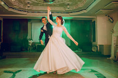taniec model 3 d abstrakcyjne ślub Obrazy Stock