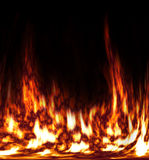 taniec ogień Fotografia Stock