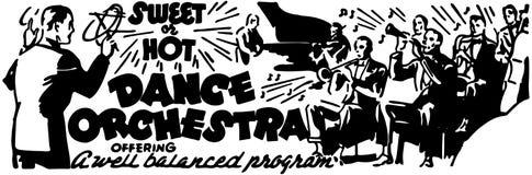 Taniec orkiestra Zdjęcie Royalty Free