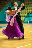 Taniec para Zdjęcie Stock