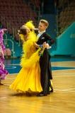 Taniec para Zdjęcia Stock