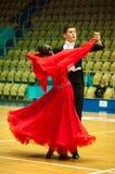Taniec para Obrazy Royalty Free