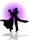 taniec quickstep Fotografia Stock