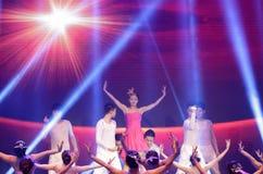 Taniec: słońce Obrazy Stock