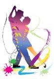 Taniec sztuka Zdjęcia Royalty Free