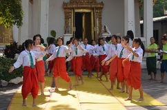 Taniec Tajlandia fotografia stock