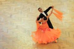 Taniec towarzyski w Praga fotografia stock