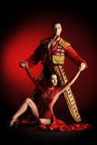 taniec tradycyjny Zdjęcia Royalty Free
