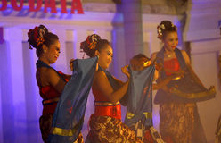 taniec tradycyjny Obrazy Royalty Free