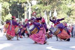 taniec tradycyjny Obrazy Stock