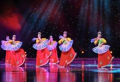 Taniec trippingly---Koreański taniec Zdjęcie Royalty Free