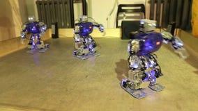Taniec trzy robota zbiory wideo