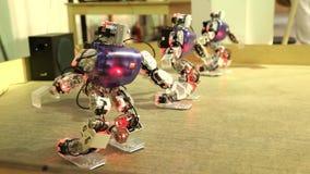 Taniec trzy robota zbiory