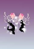 taniec ulica Obraz Royalty Free