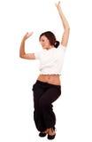 taniec z nią dba Fotografia Stock