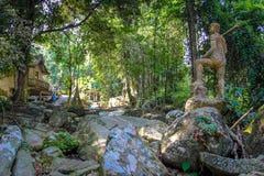 Tanim magic Buddha garden Royalty Free Stock Photos