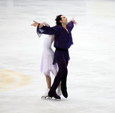 Tanith Belbin and Ben Agosto (USA) Stock Photo