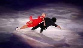 Tanith Belbin e Benjamin Agosto (EUA) Fotos de Stock Royalty Free