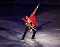 Tanith Belbin e Benjamin Agosto (EUA) Fotografia de Stock Royalty Free